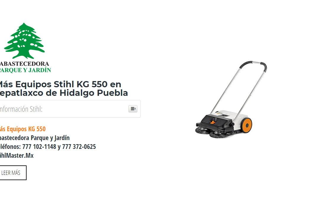 Más Equipos Stihl KG 550 en Tepatlaxco de Hidalgo Puebla