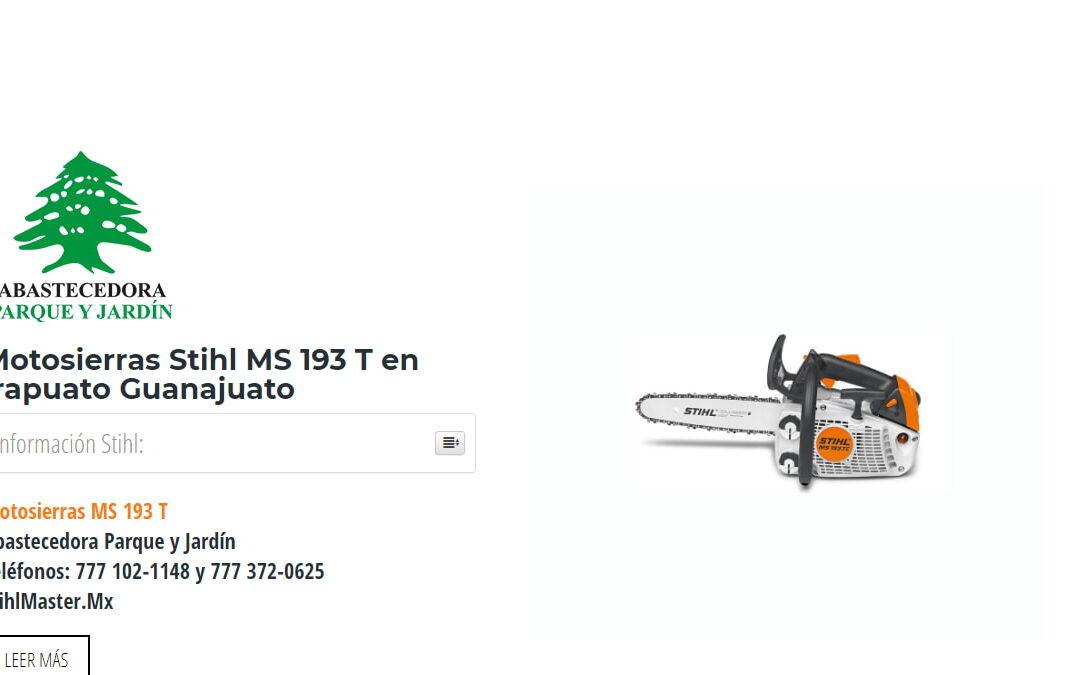 Motosierras Stihl MS 193 T en Irapuato Guanajuato