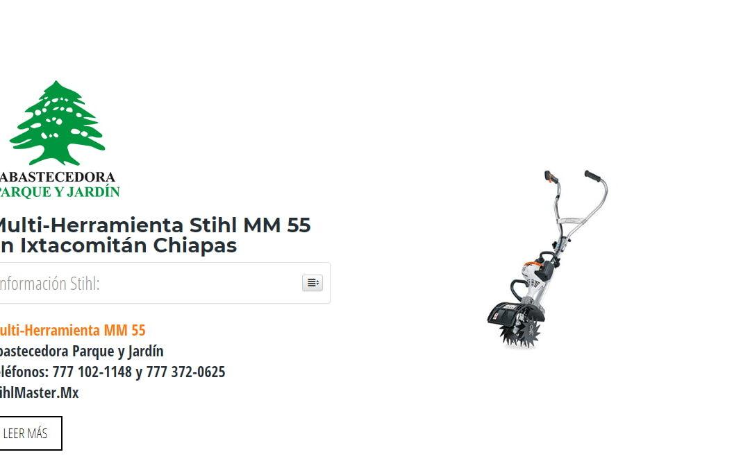Multi-Herramienta Stihl MM 55 en Ixtacomitán Chiapas