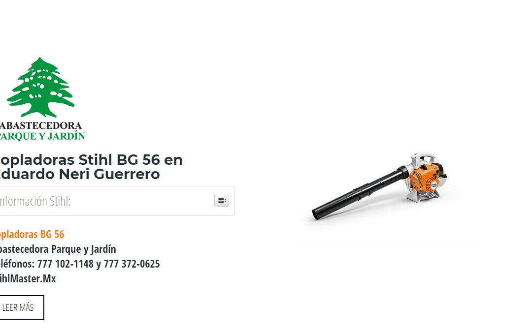 Sopladoras Stihl BG 56 en Eduardo Neri Guerrero