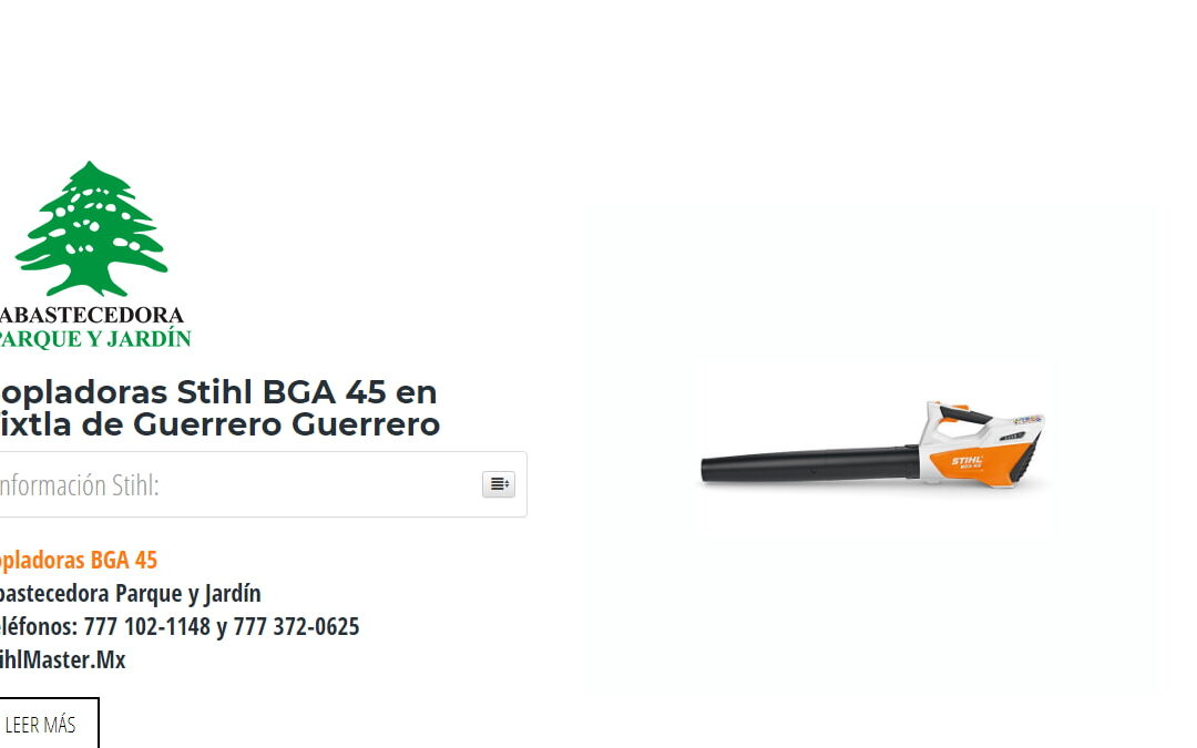 Sopladoras Stihl BGA 45 en Tixtla de Guerrero Guerrero