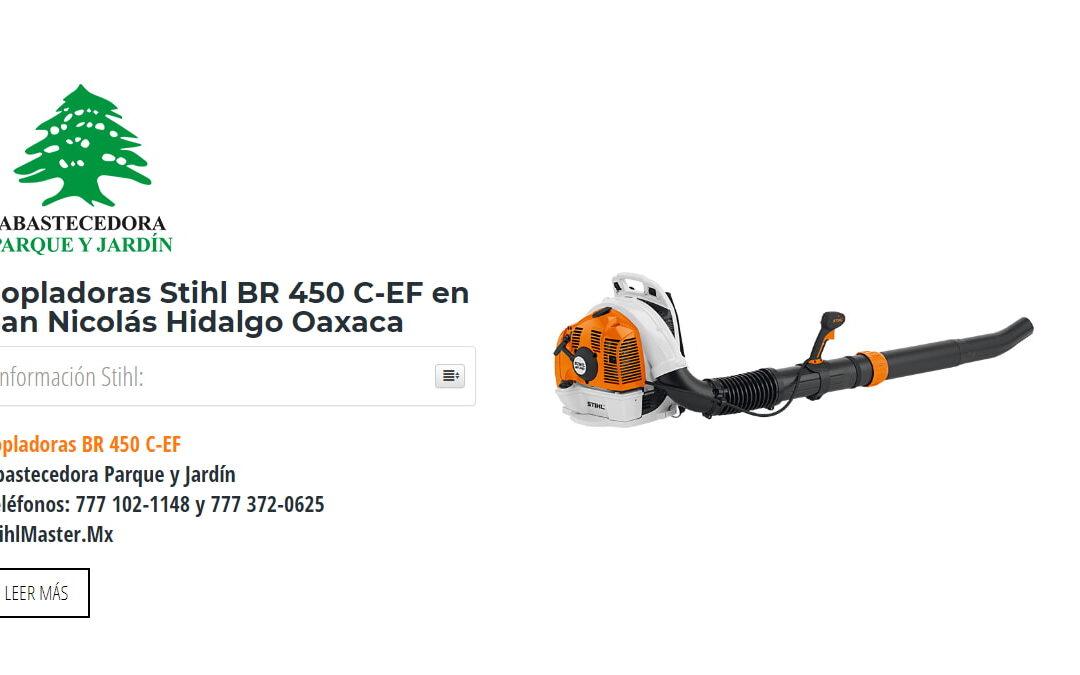Sopladoras Stihl BR 450 C-EF en San Nicolás Hidalgo Oaxaca
