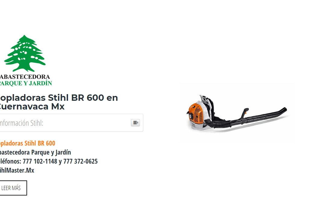 Sopladoras Stihl BR 600 en Cuernavaca Mx