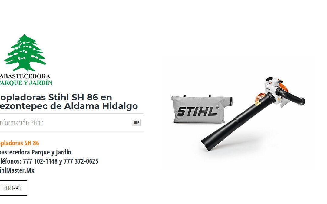 Sopladoras Stihl SH 86 en Tezontepec de Aldama Hidalgo