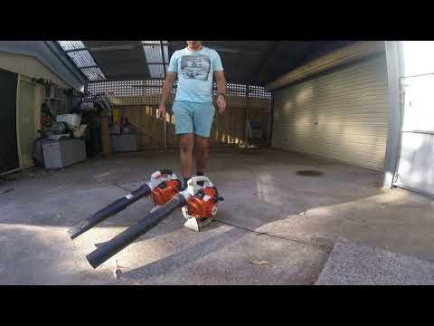 Vlog #79 New Stihl BG86 blower!! Comparison with the BG56