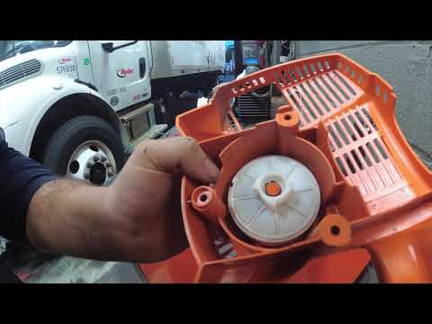 CriagsList JACKPOT LOT #3 HOW TO Repair Replace Pull Cord Stihl FS56RC Weedwacker Weedeater Wacker