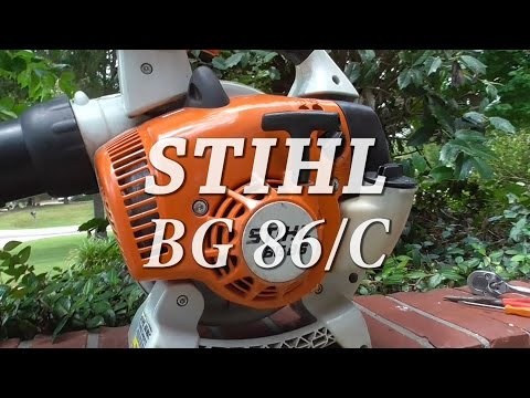 STIHL BG 86 Leaf Blower Simple Repair