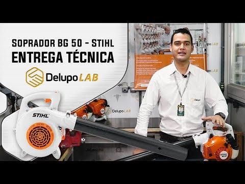 ENTREGA TÉCNICA – Soprador BG 50 – STIHL