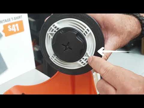 Refilling the STIHL AutoCut 6-2