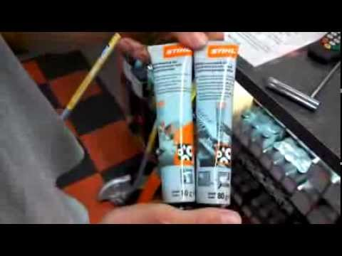 Stihl Grease – Greasing Hedge Trimmers & other Hand Held Equipment
