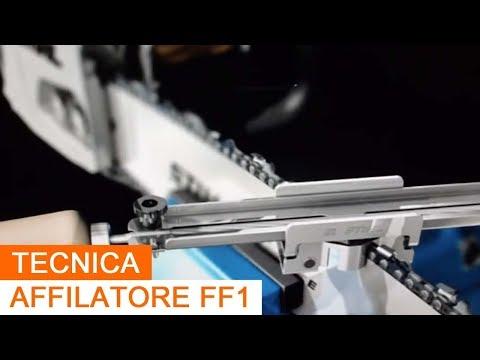 Affilatura della catena della motosega con FF1 Stihl