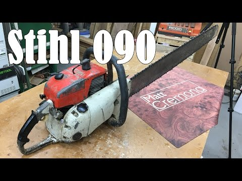 Stihl 090 – My New Chainsaw Mill Saw