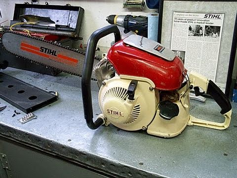 1959 Stihl Contra Chainsaw MINT Condition Overview & Startup