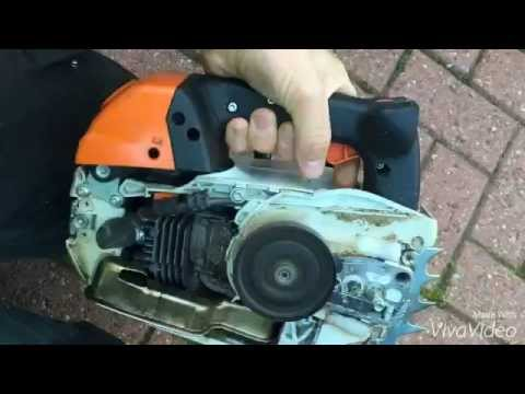 Drilling STIHL Ms 201t Exhaust