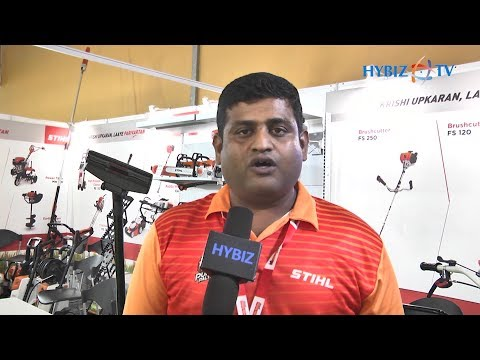 STIHL India | Hemanth G Technical Head South India | Agri Tech India 2019