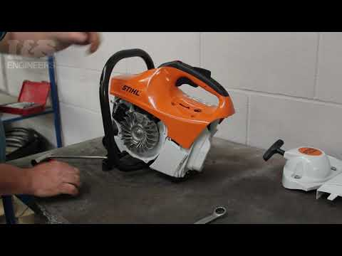 How to Check the Piston for Damage on a Stihl TS410 | L&S Engineers