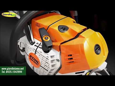 La prima motosega al mondo con iniezione elettronica – Stihl MS 500i