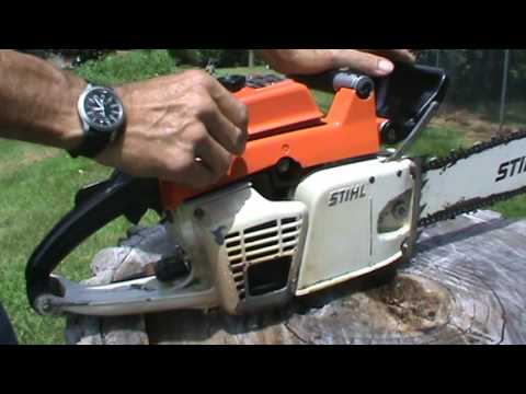 Stihl 041AV  Farm Boss Joins the Ranch