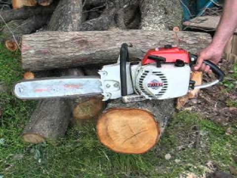 Stihl 041G gear drive chainsaw