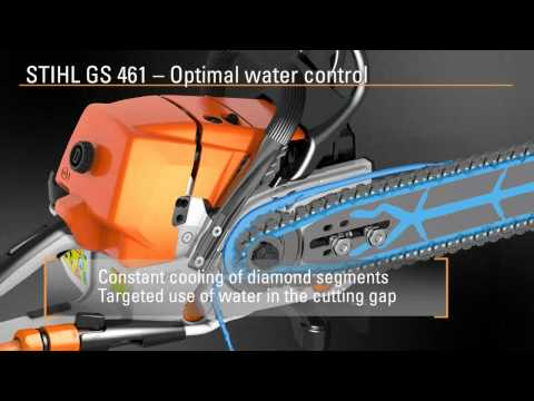 NEW STIHL GS 461 Concrete cutting chain saw