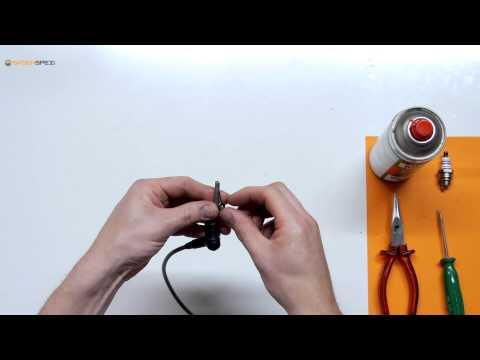 Zündkerzenstecker und Zündkabel zusammenbauen für eine Stihl Motorsäge