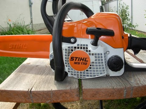 STIHL MS170 Installing Dogs (Part 2/2)