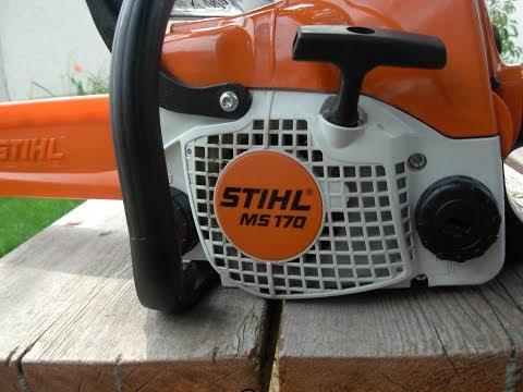 STIHL MS170 Chain Tensioner (Part 1/2)