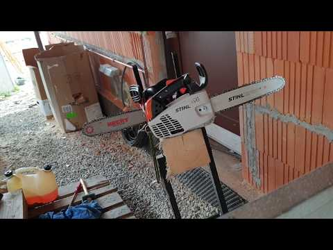 STIHL MS193T vs HECHT 927 Chainsaw
