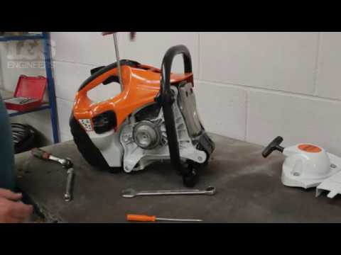 How to Strip a Stihl TS420 Down to a Short Motor | L&S Engineers